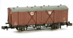 Dapol 2F-014-006 FRUIT D WAGON #2894 'G.W.' lettering GWR BROWN